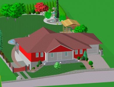 Záhrada rodinného domu 7
