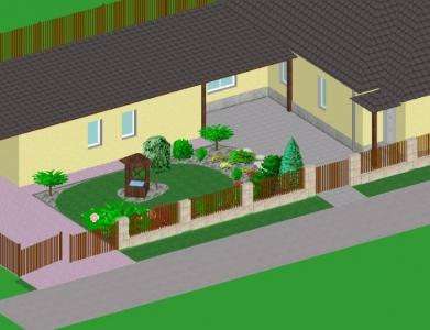 Záhrada rodinného domu 12